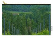A Painting A Tuscan Vineyard And Villa Carry-all Pouch