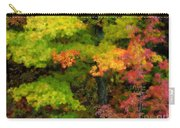 A Painting Adirondack Autumn Carry-all Pouch