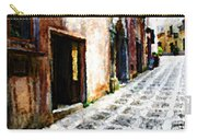A Painting An Italian Street Carry-all Pouch