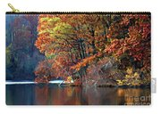 A Painting Barney's Autumn Pond Carry-all Pouch