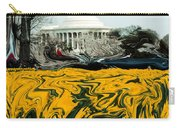 A Painting Jefferson Memorial Dali-style Carry-all Pouch