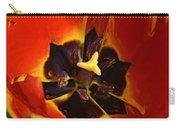 A Painting Red Tulip Carry-all Pouch