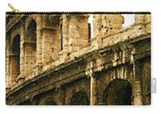 A Painting The Colosseum Carry-all Pouch