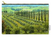 A Painting Tuscan Panoramic 4 Carry-all Pouch