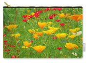 A Painting Tuscan Poppies Carry-all Pouch