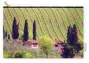 A Painting Tuscan Vineyard Carry-all Pouch