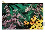 A Painting Wild Flowers Dali-style Carry-all Pouch