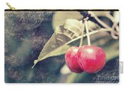 A Pair Of Cherries Carry-all Pouch