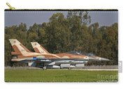 A Pair Of F-16c Barak Of The Israeli Carry-all Pouch