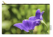 A Pair Of Purple Balloon Flowers Carry-all Pouch