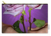 A Pair Of Purple Roses Carry-all Pouch