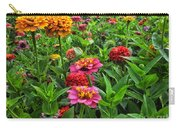 A Pair Of Yellow Zinnias 02 Carry-all Pouch