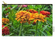 A Pair Of Yellow Zinnias 03 Carry-all Pouch