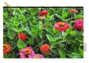 A Pair Of Yellow Zinnias 04 Carry-all Pouch
