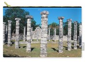 A Panoramic View Of Columns Surround Carry-all Pouch