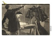 A Parisien Drama, Illustration From Le Carry-all Pouch