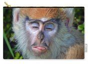 A Patas Baby Monkey Behaving Badly Carry-all Pouch