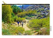A Pause On Lower Palm Canyon Trail In Indian Canyons Near Palm Springs-california Carry-all Pouch