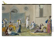 A Persian Harem, From Le Costume Ancien Carry-all Pouch