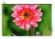A Pink Flower Carry-all Pouch