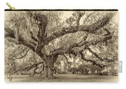 A Place For Dying Sepia 2 Carry-all Pouch