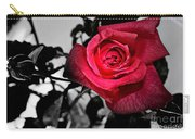 A Pop Of Red - Rose  Carry-all Pouch