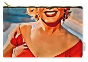 A Portrait Of Marilyn Carry-all Pouch