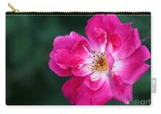 A Pretty Pink Rose Carry-all Pouch