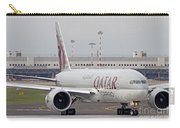 A Qatar Airways Cargo Boeing 777 Carry-all Pouch