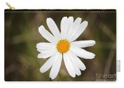 A Rain Spattered Daisy Carry-all Pouch