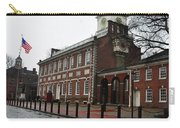A Rainy Day At Independence Hall Carry-all Pouch