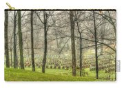 A Rainy Day At The Cemetery Carry-all Pouch