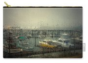 A Rainy Evening On The Port Carry-all Pouch