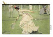 A Rally, 1885 Carry-all Pouch by Sir John Lavery