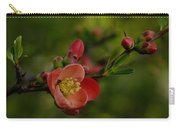 A Red Flower Carry-all Pouch
