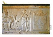 A Relief In Bergama Museum-turkey Carry-all Pouch