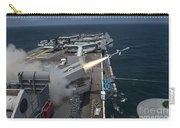 A Rim-7 Sea Sparrow Missile Is Launched Carry-all Pouch by Stocktrek Images