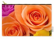 A Riot Of Roses Carry-all Pouch
