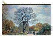 A Road In Seine-et-marne, 1878 Carry-all Pouch