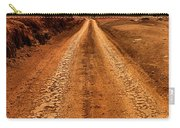 A Road Less Traveled Carry-all Pouch by DJ Florek