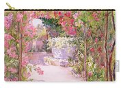 A Rose Arbor And Old Well, Venice Carry-all Pouch
