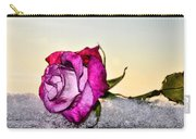 A Rose In Winter Carry-all Pouch