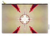 A Rose Thorns And All Mandala Yantra Carry-all Pouch