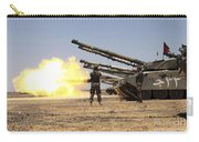 A Royal Jordanian Land Force Challenger Carry-all Pouch