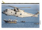 A Royal Navy Merlin Helicopter  Carry-all Pouch