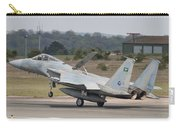 A Royal Saudi Air Force F-15c Landing Carry-all Pouch