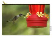 A Ruby-throated Hummingbird Carry-all Pouch