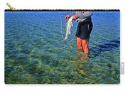 A Salt Water Fly Fisherman Catches Carry-all Pouch