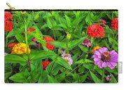 A Sea Of Zinnias 04 Carry-all Pouch
