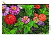 A Sea Of Zinnias 07 Carry-all Pouch